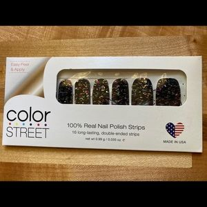 """RETIRED """"Ready, Set, Confetti"""" Color Street Nails"""